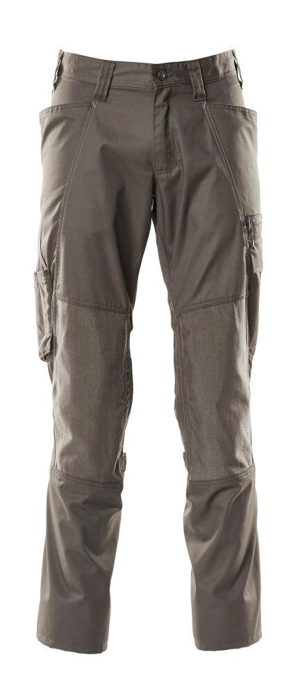 Trousers, kneepad pockets, extra light