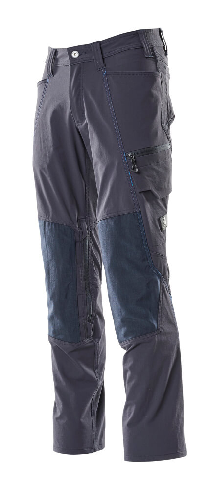 Trousers, kneepad pockets, stretch