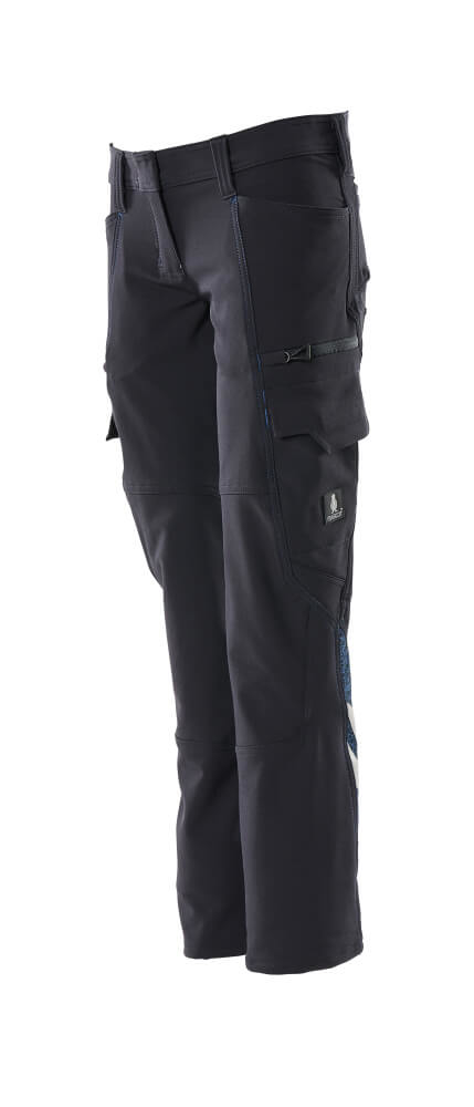 Trousers, ladies fit, pearl fit, stretch