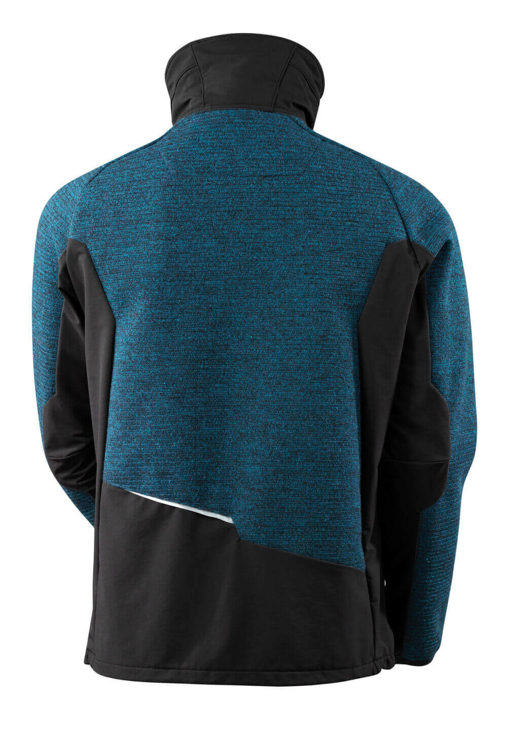Knitted Jacket, half zip, membrane