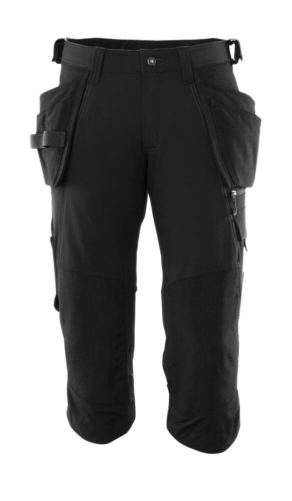 ¾ Trousers, holster pockets, stretch
