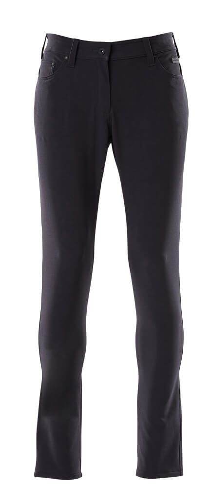 Trousers, ladies, pearl, stretch, light
