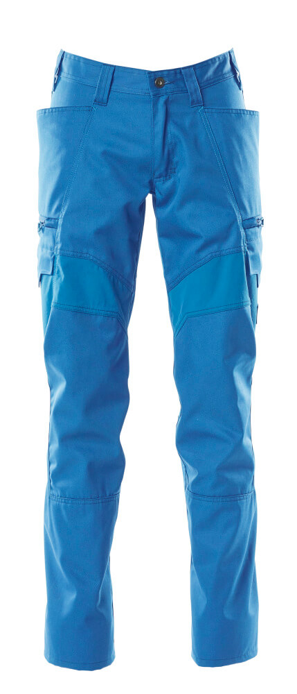 Trousers, thigh pockets, stretch inserts