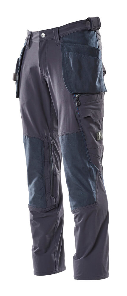 Trousers, holster pockets, stretch
